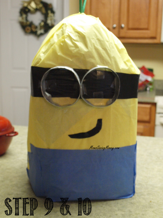 steps 9 10 minion pinata