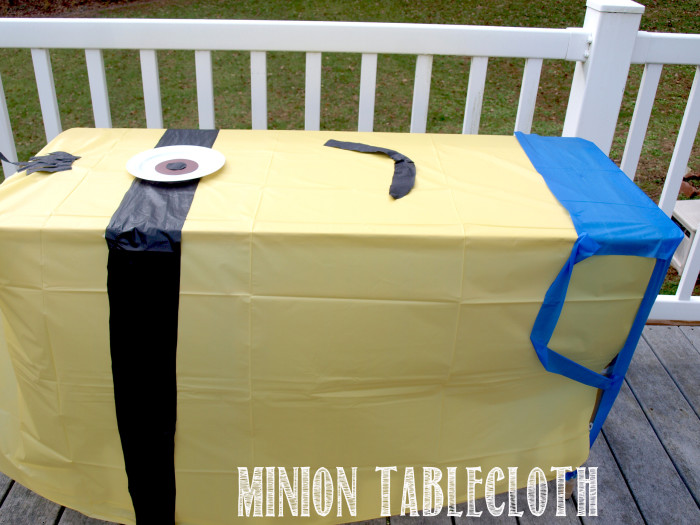 Minion Tablecloth