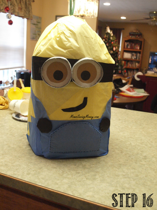 step 16 minion pinata