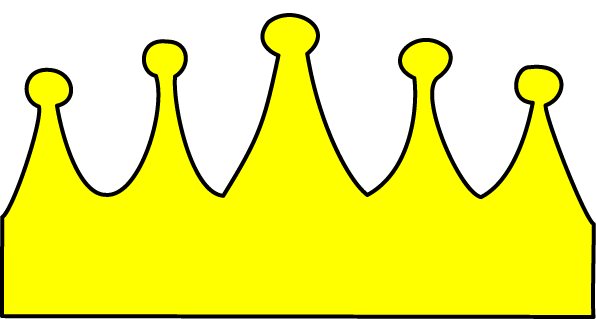 Princess and the Frog crown PNG Format