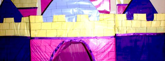 Disney Princess Wall Castle Tutorial