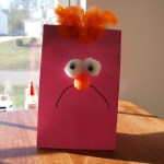 Beaker Muppet Favor Bag