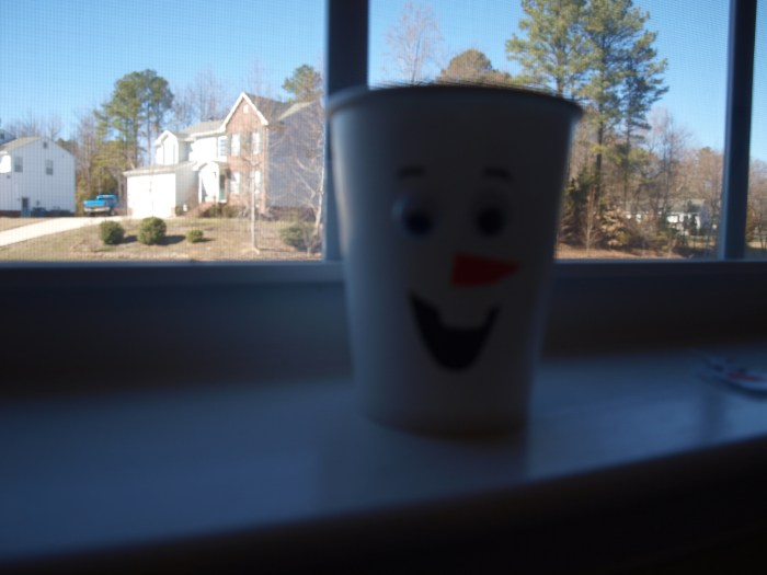 Olaf Paper Cup