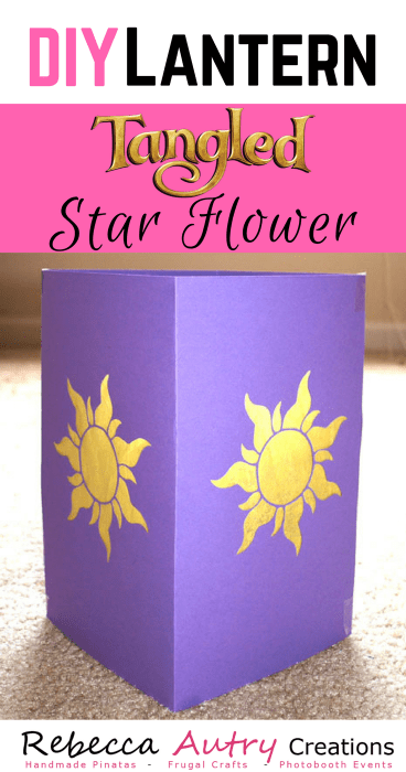 DIY Tangled Star Flower Lantern
