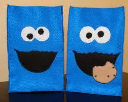 Cookie Monster Favor Bags
