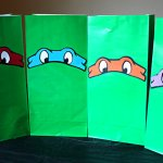 Teenage Mutant Ninja Turtle Favor bags