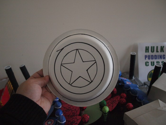 Captain America Shield Craft