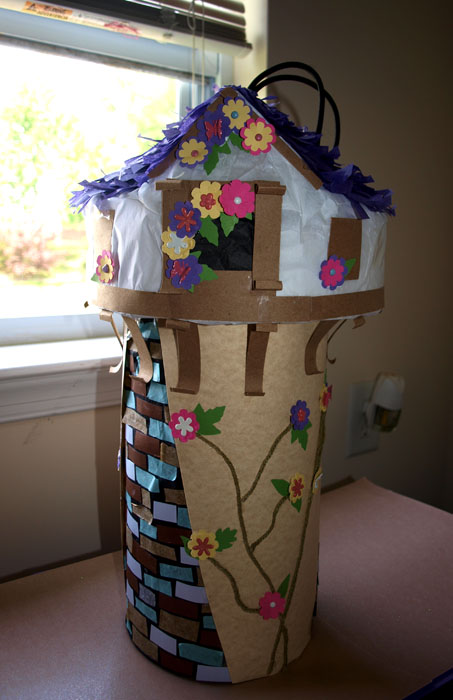 Tangled Tower Pinata Tutorial Rebecca Autry Creations