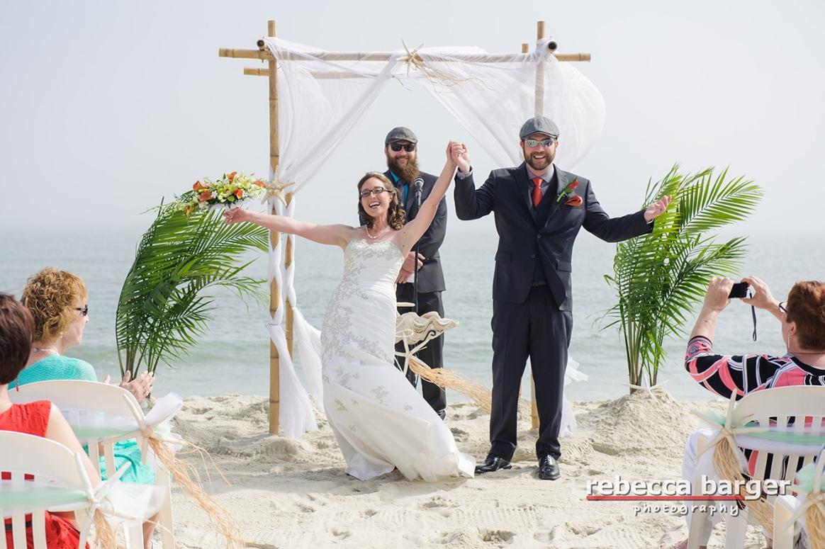 NJ beach wedding