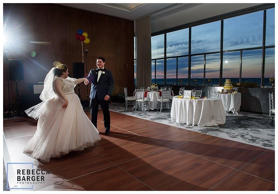 sunset loews wedding reception Howe