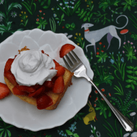 Strawberry Pound Cake (Gluten Free, Dairy Free)