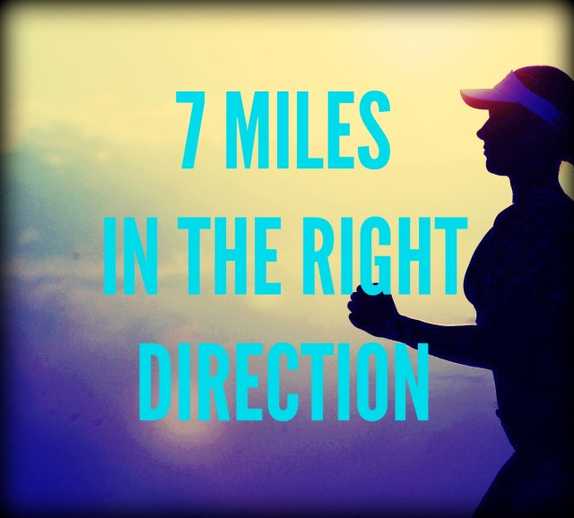 SEVEN MILES IN THE RIGHT DIRECTION
