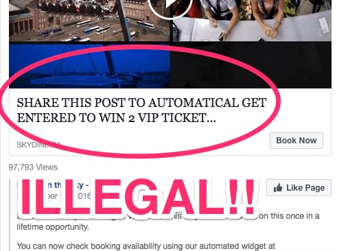 How to facebook contest
