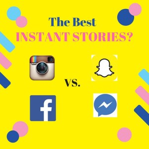 who has the best instant stories