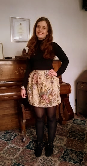 Outfit of the Week: The Curtain Skirt