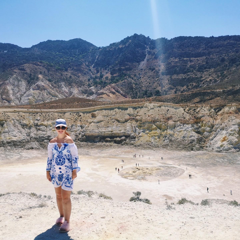 Exploring A Volcano In The Aegean