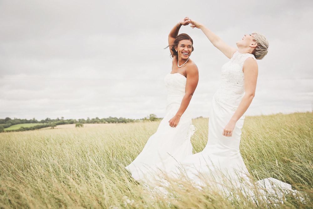 Home Farm Events Wedding, Braunstone, with Nicole & Kristie