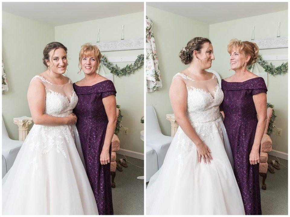Bride. Mother of Bride.