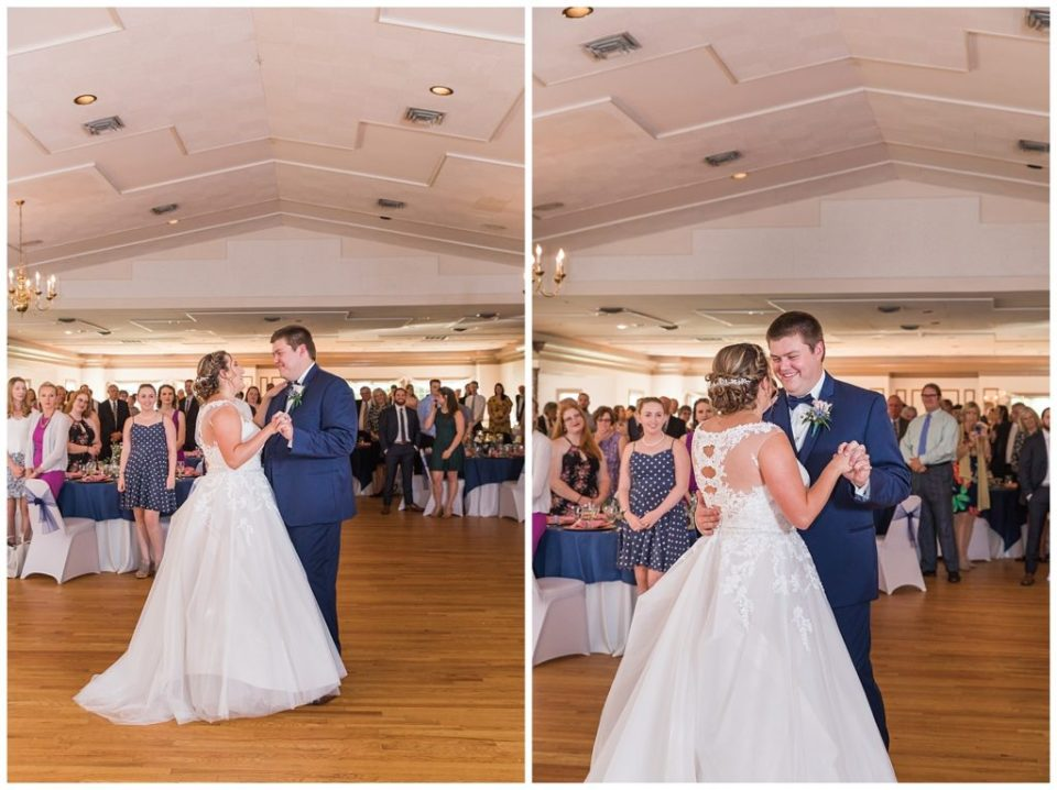 First Dance. Bowling Green Country Club.