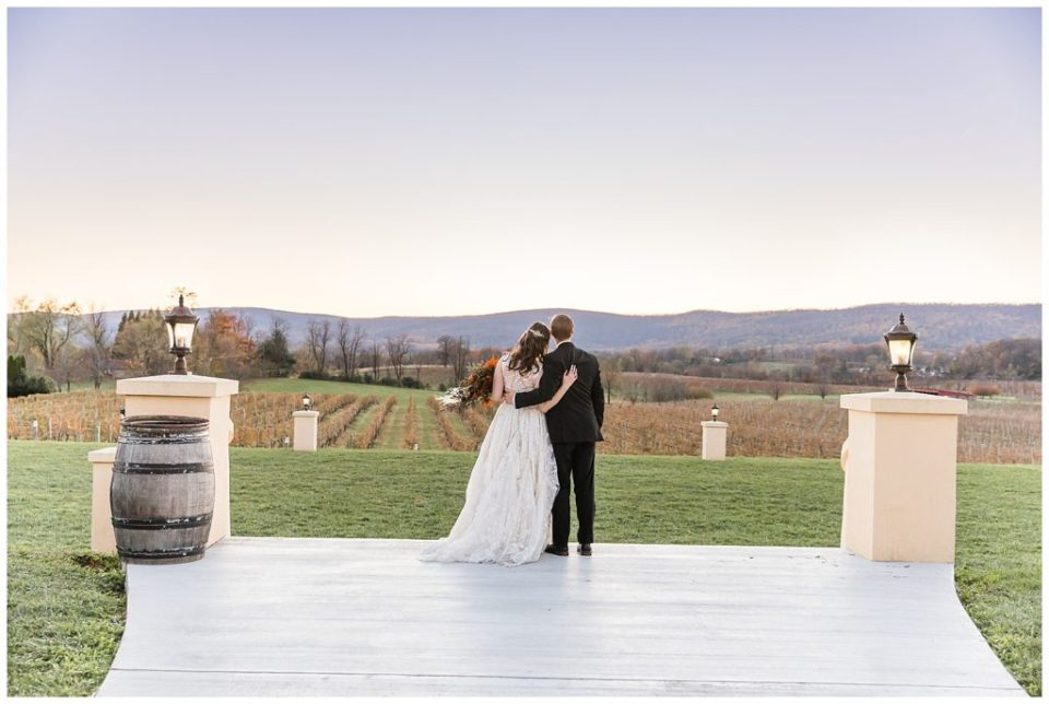 Breaux Vineyards. Bride. Groom.