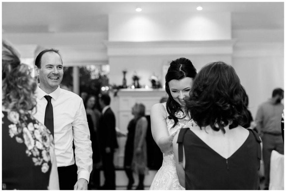 Bride. Mom. Dad. Virginia Wedding. Rebecca Dotson Photography.
