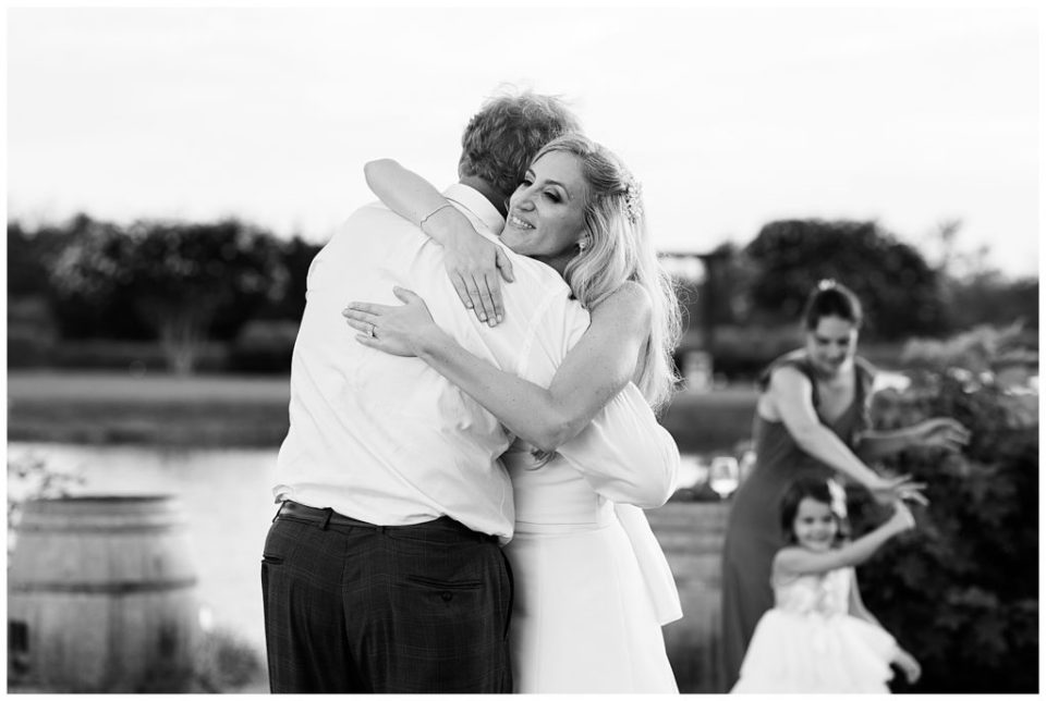 Father and daughter.  Dance. Wedding