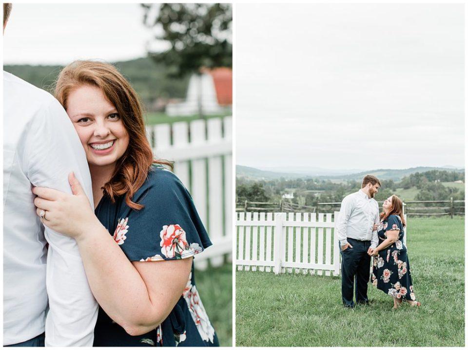 Virginia engagement.
