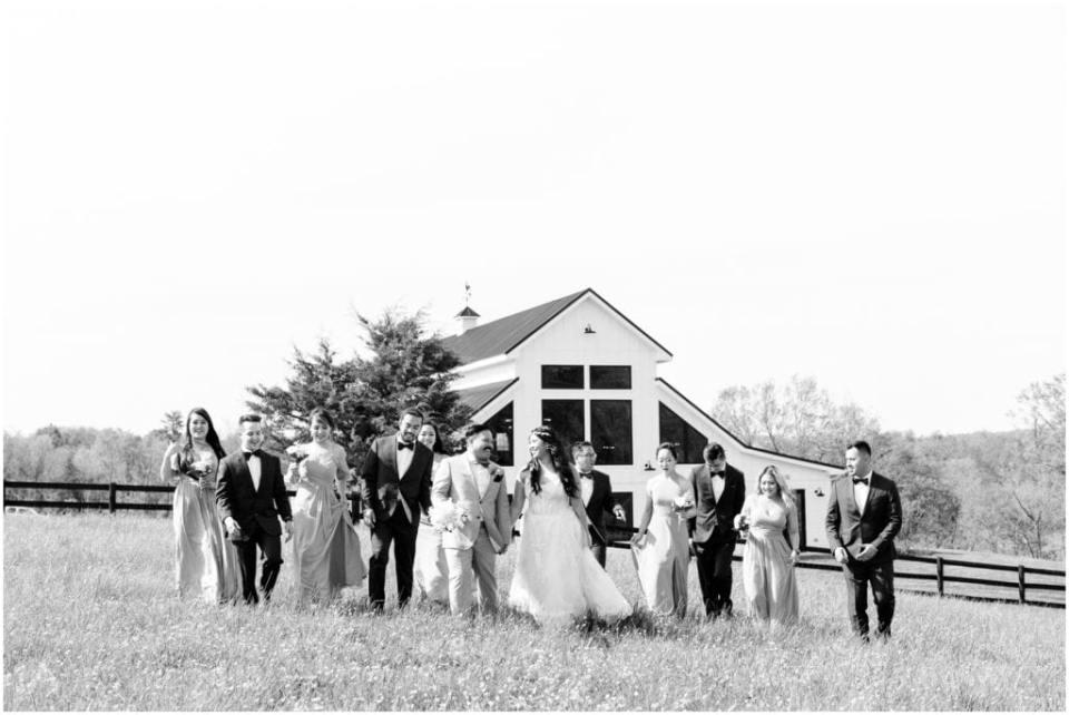 The Barn at Willow Brook Wedding
