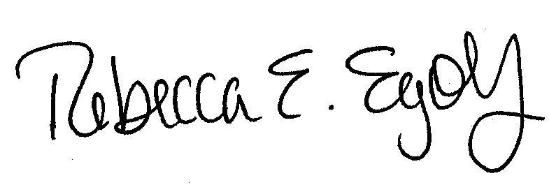 Rebecca's signature 3