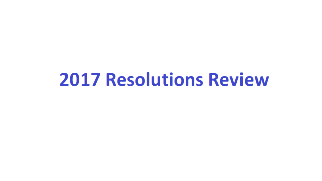 2017 Resolutions header