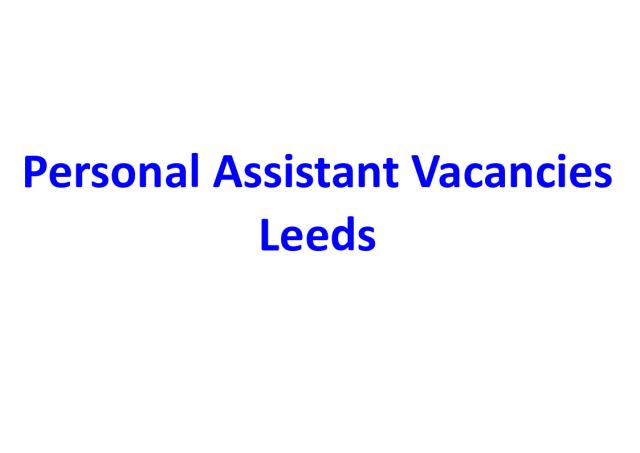 PA Vacancies ad header