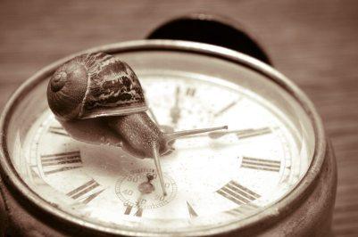 I am slow.