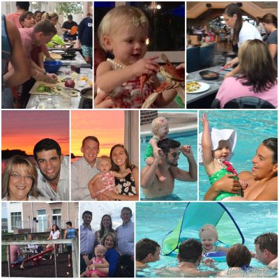 my five-day vacation with my family