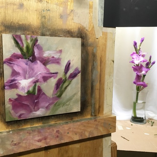 Gladiola - was pretty challenging. I'm still not sure how I feel about this one.