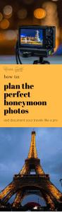 how to plan perfect honeymoon photos