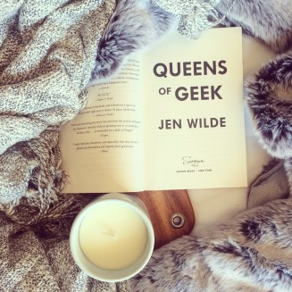 This is an ARC of Queens of Geek, by Jen Wilde!