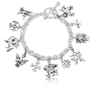 The Charms of St. Paul's bracelet