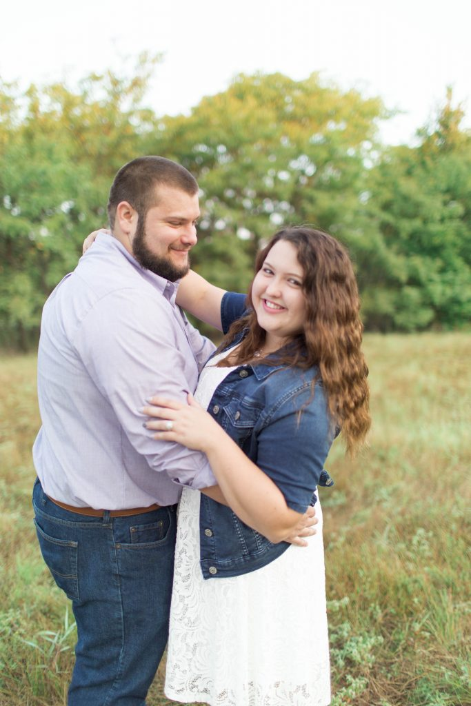 Engagement Session - Arbor Hills Nature Preserve | Becca Sue Photography - beccasuephotography.com