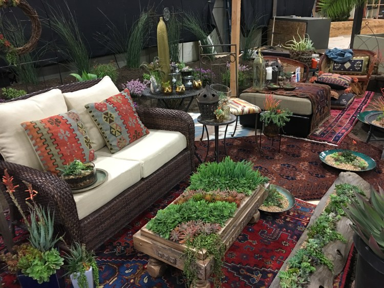 Rebecca was invited to exhibit at the prestigious Garden Masters Show as  part of the San Diego Home and Garden Show  March  2017  Although new to  the show. Garden Masters Show 2017   Rebecca Hillix Garcia