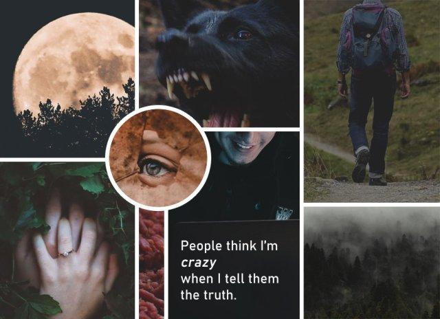 """Moodboard for """"When It Happens"""" by Rebecca Jones-Howe"""
