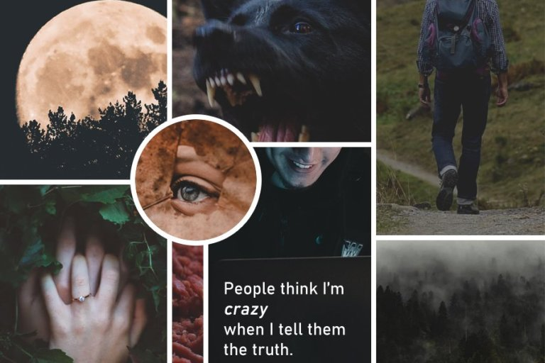 "Moodboard for ""When It Happens"" by Rebecca Jones-Howe"