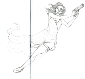 Black Widow, Sketchbook 2015
