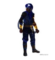Character design commission, Jan 2016