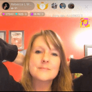 Social Media Acceptance-Rebecca on LiveMe app