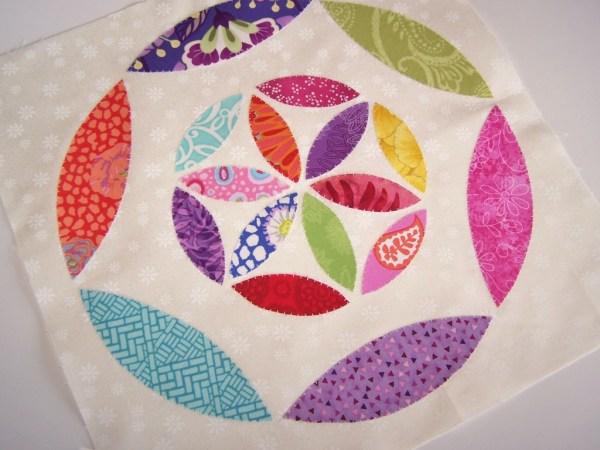 joseph's coat quilt block