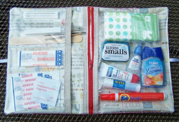first aid kit sewing tutorial