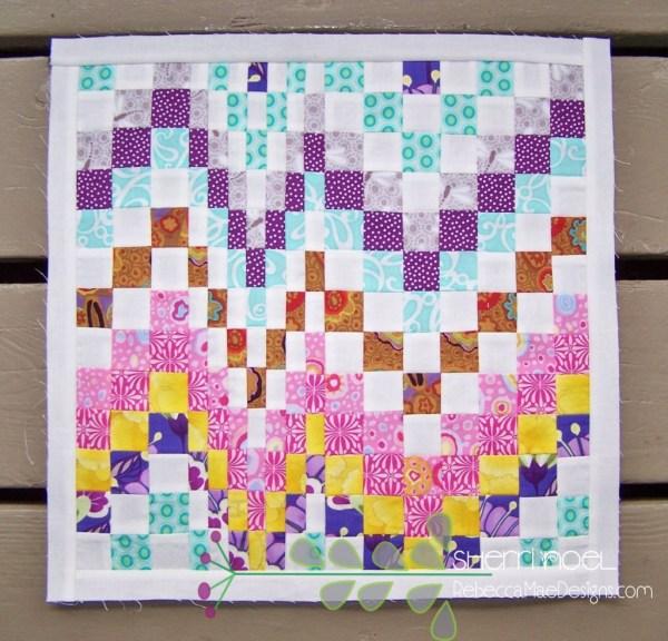 bargello quilt block