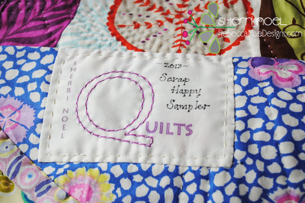 spoonflower quilt labels