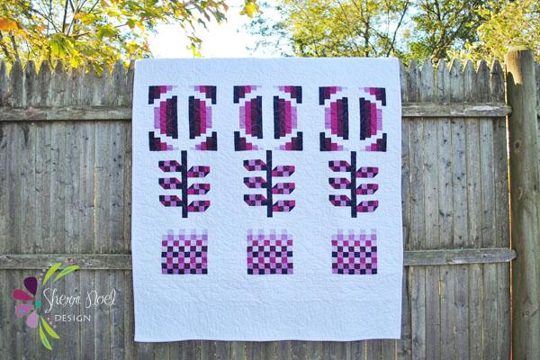Modern Bloom Quilt Pattern