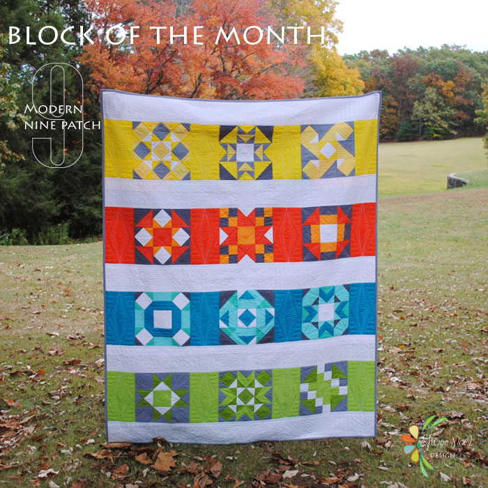 block of the month quilt 2015